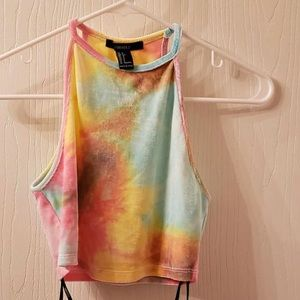 Tie Dye Small Crop Top Forever 21 NEW WITH TAGS